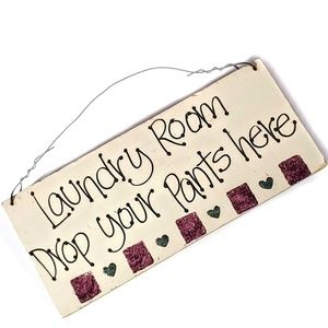 Laundry Room Art Laundry Room Statement Plaque